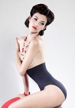 Skin Wrap Hoher Slip von Miss Perfect