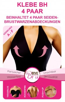Bye Bra KLebe BH Transparent / D - F