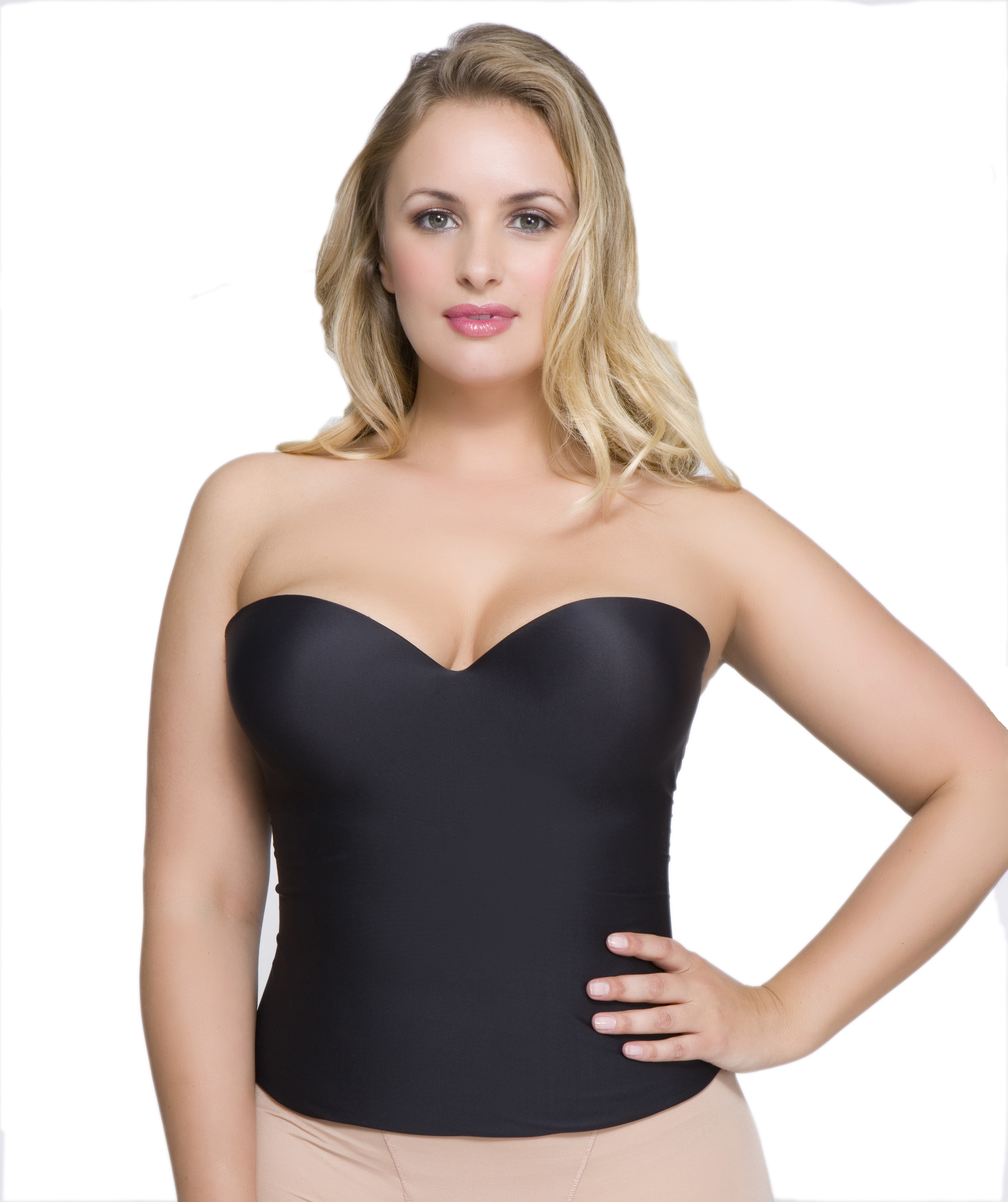 Bustier molded cup schwarz